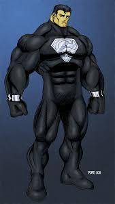 superman black costume hulkdaddyg deviantart