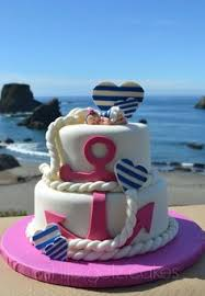 nautical themed baby shower cake cake by cakes for fun