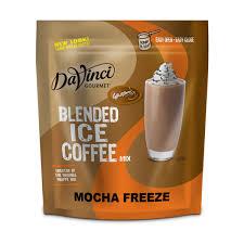 Coffee Mix davinci gourmet皰 iced blended coffee mix mocha freeze