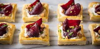 puff pastry canape ideas vegetarian canapés and nibbles demuths cookery