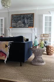 falling for vintage u0026 modern fall living room elko