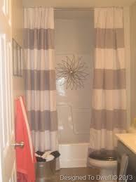Neutral Shower Curtains Striped Shower Curtain Neutral Bathroom Bathroom Ideas Boy