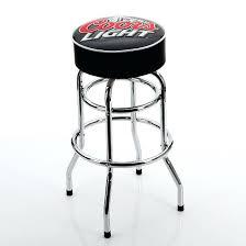 coors light bar stools sale bar stool budweiser bar stools coca cola logo checkers backrest