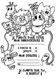 invitations a imprimer