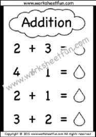 kindergarten addition worksheets u2013 beginner addition u2013 8