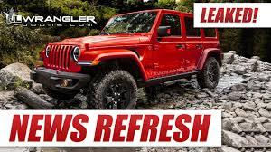 2018 jeep wrangler jl interior leaked 2018 jeep wrangler jl youtube