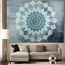 Hanging Rugs On A Wall Indian Hippie Mandala Tapestry Elephant Wall Hanging Bedspread