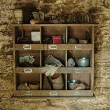 Cubby Hole Shelves by Home Design Wooden Shelf Cubby Hole Unit The Blue Door