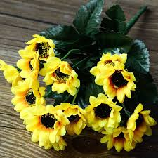 Artificial Sunflowers Compare Prices On Artificial Sunflower Online Shopping Buy Low