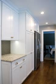 white diamond kitchen with new quay quartz countertops 14 of 15