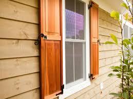 Exterior Wood Louvered Doors by Here Are The Four Types Of Exterior Window Shutters Diy