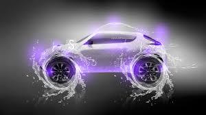 purple nissan juke nissan juke water neon car 2013 el tony