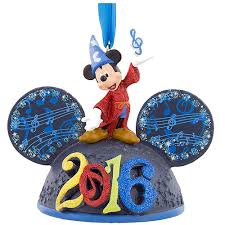 your wdw store disney ornament 2016 sorcerer mickey