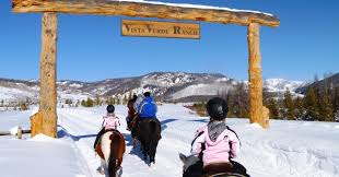 family vacations in the snow colorado luxury ranch resort