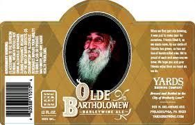 Yards Olde Bartholomew Barleywine | BeerPulse