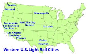 Sacramento Light Rail Map Light Rail Success