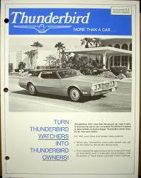 ford thunderbird service shop u0026 owner u0027s manuals troxel u0027s auto