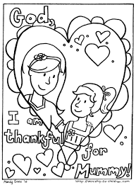 mom coloring pages 9448