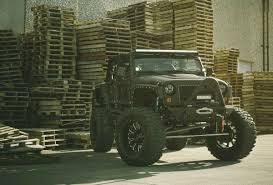jeep wrangler custom black full metal jacket jeep w xd bomb wheels and nitto mud grappler tires