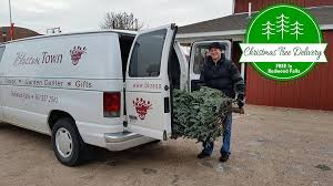 fresh trees we deliver right to your door