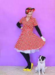 Minnie Mouse Costume Diy Minnie Mouse Costume For Adults Dream A Little Bigger