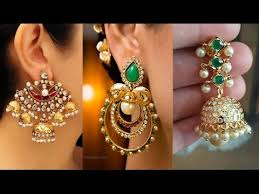 big earing big chandbali earring designs 2017