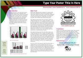 templates for poster presentation download professional a3 templates for project poster presentation