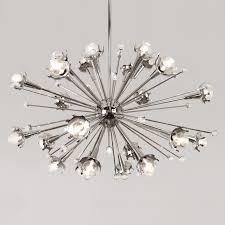 Light Fixtures Chandeliers Sputnik Nickel Chandelier Modern Chandeliers Jonathan Adler