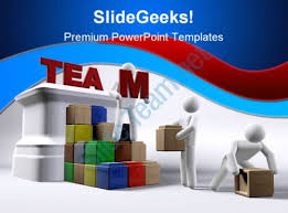 Team Building Template team building teamwork powerpoint template 1110 powerpoint