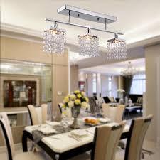 aliexpress com buy 3 light hanging linear chandelier