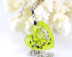 green heart pendant necklace images Green heart necklace etsy jpg