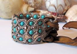 crochet jewelry bracelet images Crocheted jewelry far more special than anything in stores the jpg