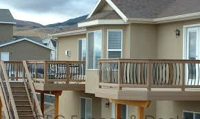 22 top photos ideas for second story deck plans home plans