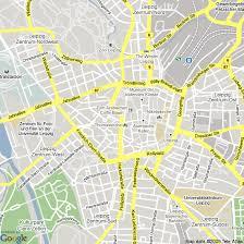 map of leipzig map of leipzig germany hotels accommodation