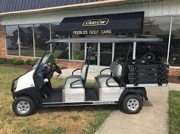 2018 club car transporter with stake side cargo box peebles golf