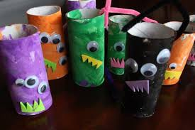 Paper Roll Crafts For Kids - 25 super cute paper roll crafts for kids