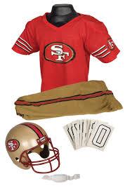 christmas gifts for 49ers fans san francisco 49ers kids nfl uniform set