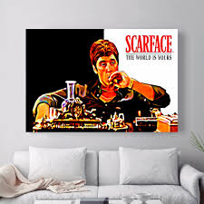 scarface home decor scarface framed pictures gallery craft decoration ideas