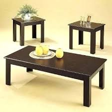 coffee table end table set three piece table sets nomobveto org