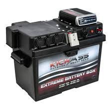 kickass 12v battery box with dc dc mppt solar charger