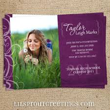 senior graduation announcement templates high school graduation invitations templates plumegiant