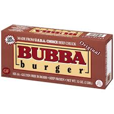 bubba burger original burger 6 ct box walmart com