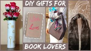 diy gift ideas for book lovers harry potter divergent youtube