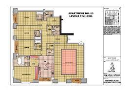 elite residence floor plans dubai marina dubai