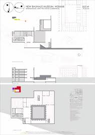 bauhaus floor plan gallery of new bauhaus museum pedro monteiro rodrigo cruz