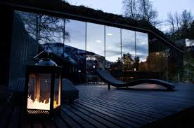 the house from ex machina is now a beautiful norwegian hotel