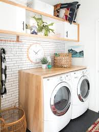 13 genius diys to maximize your laundry room hgtv