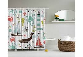 Nautical Shower Curtains Nautical Shower Curtain