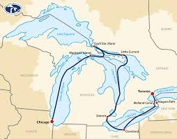 Map Of Great Lakes Great Lakes Grand Discovery Victory Great Lakes Cruise Co