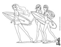 barbie mermaid tale coloring pages merliah and eris fighting